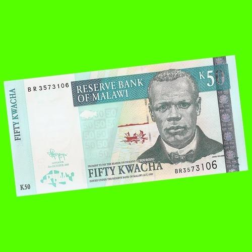 Malawi - Billete De 50 Kwacha 2009 ¡ Sin Circular !