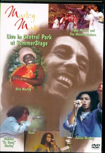 Dvd Marley Magic - Live In Central Park Original