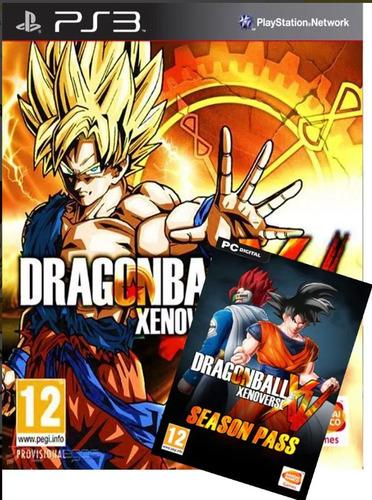 Dragon Ball Ps3 Xenoverse +season Pass Incluye Todos Los Dlc