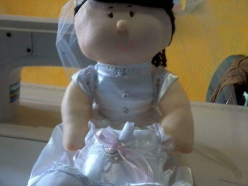 Boneca Noiva De Debutante