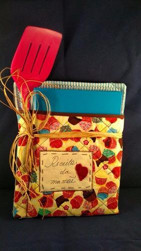 Caderno De Receitas Em Patchwork Original