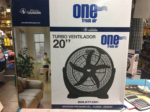 Ventilador Turbo One Aspa 50cm