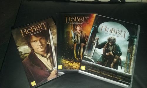Dvds O Hobbit Trilogia