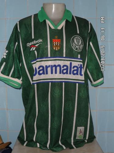 Camisa Palmeiras Ataque Dos 100 Gols De Jogo N#3 1996/97 Original