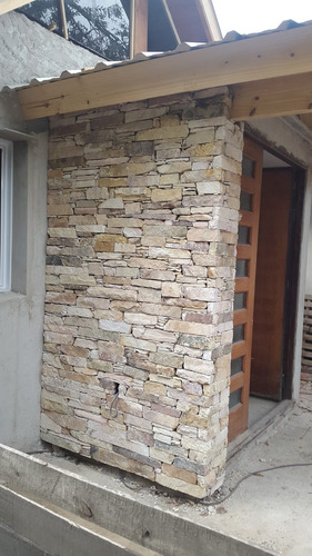 Revestimiento Piedras Murete Bariloche Oferton No Muretito