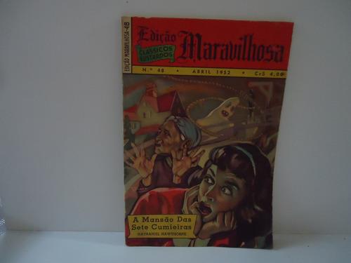 Gibi Edições Maravilhosas Nº 48 - Ano 4 - Abril 1952 Original