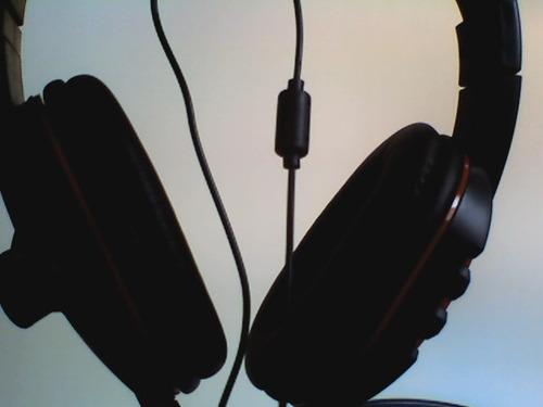 Fone De Ouvido Com Microfone Xbox 360 Headset Preto Vermelho
