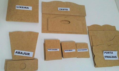 10 Kits Higiene Bebe 07 Peças Desmontado Com Afiação Original