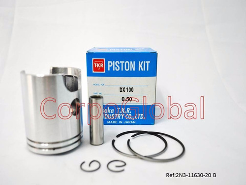 Kit De Piston Yamaha Dx100 W/ring 0.50mm