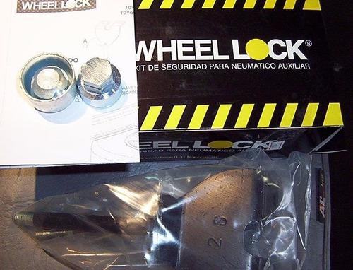 Anti Robo Rueda Auxilio Ford Ranger '12 + Wheel Lock