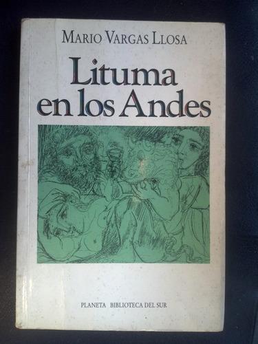 Lituma En Los Andes Vargas Llosa, Mario