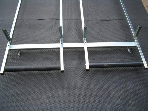 Suporte / Escadas C/ Roletes P/ Fiorino Furgão, Doblô/kangoo