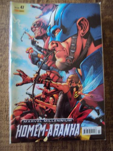 Marvel Millennium # 47 - Homem-aranha - Panini Original