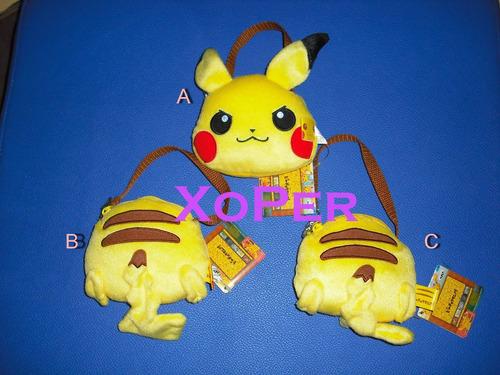 Pokemon // Pikachu / Porta Tarjeta-monedero 100% Original