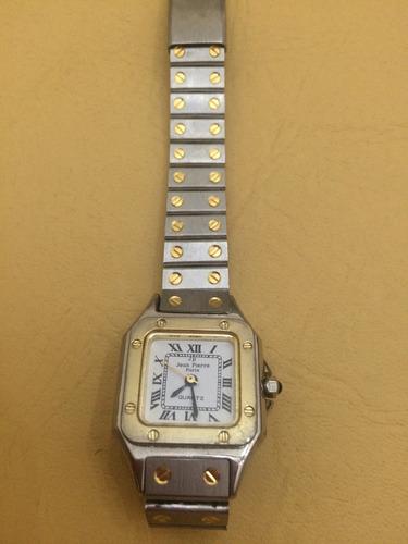 Reloj De Mujer Con Malla Metálica