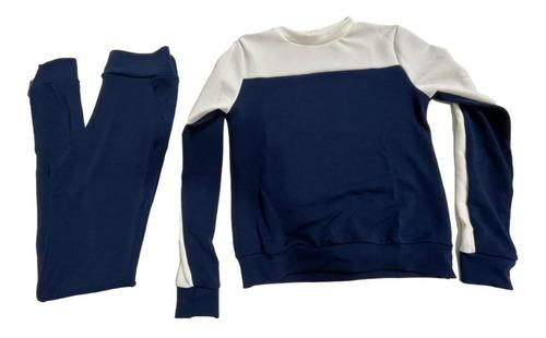 Conjunto Feminino Blusa Manga Longa E Calça Inverno Frio