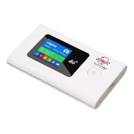Modem Router 4g Wifi Portatil Con Bateria Liberado Lte
