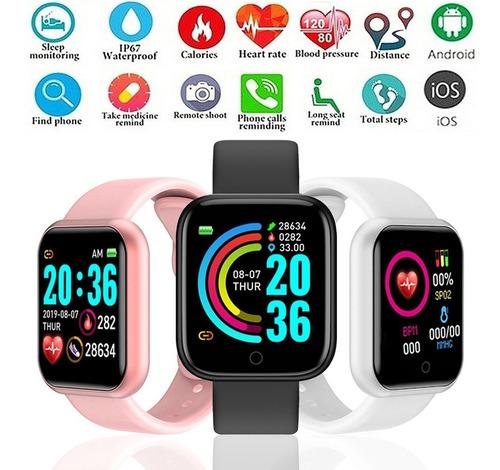 Smartwatch D20 Pro Novo 2021 Coloca Foto