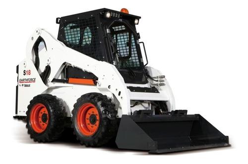 Minicargadora Bobcat S18 (earthforce) - Desde