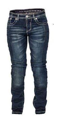 Calça Jeans Feminino Motoqueiro Kevlar Texx Carmin Lady