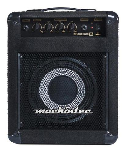 Amplificador Mackintec Demolidor 30 Para Baixo De 30w Cor Preto 110v/220v