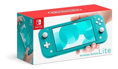 Console Nintendo Switch Lite 32gb Portátil Azul Turquesa
