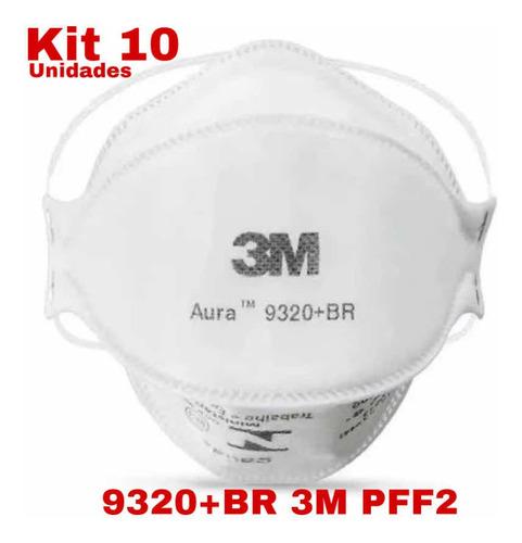 Respirador 9320br Pff2 N95 3m - Caixa Com 10un