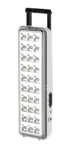 Luz De Emergencia Sica 971135 Led Con Batería Recargable 220v Blanca