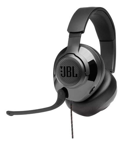 Headset Gamer Jbl Quantum 200 Microfone Boom Flip-up