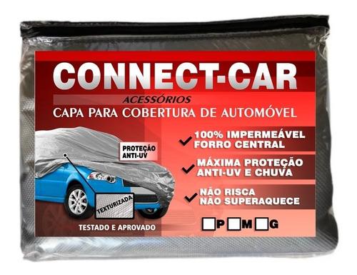 Capa Pra Cobrir Carro Impermeável Forro Proteção Sol E Chuva