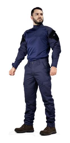 Farda Guarda Municipal Gcm Azul Marinho Militar Operacional