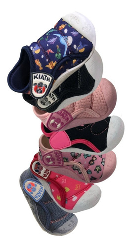 Sapatinho Meia Tenis Velcro Infantil Bebê Menino E Menina
