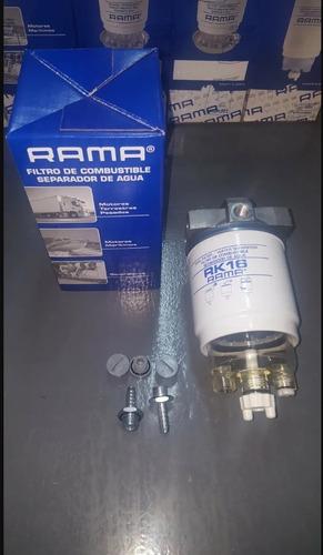 Filtro De Comb. Rama 160rk Con Separador De Agua Hta 200 Hp