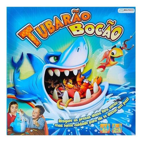 Jogo De Mesa Tubarão Bocão Multikids