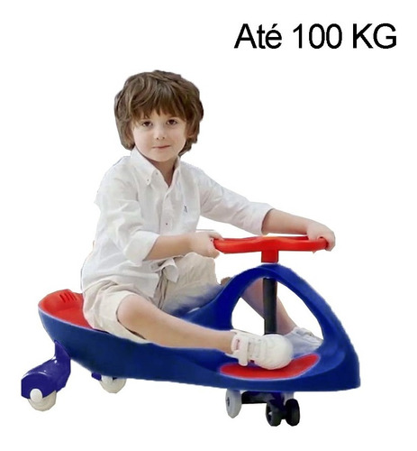 Carrinho Gira Gira - Zippy Car - Azul - Zippy Toys