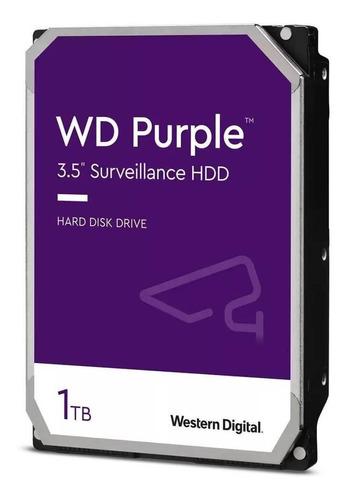 Disco Rígido Interno Western Digital Wd Purple Wd10purz 1tb Roxo