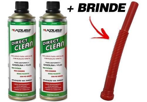 Kit 2 Direct Clean Injeção Direta Koube + Brinde Aplicador