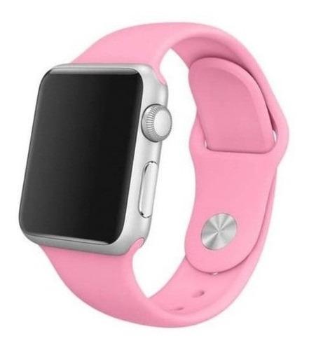 Pulseira Silicone Sport Para Apple Watch 38mm/40mm 42/44mm