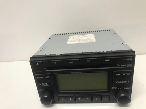 Radio Cd Player Hyundai Tucson A-200jmgu 96175-2e20 Original
