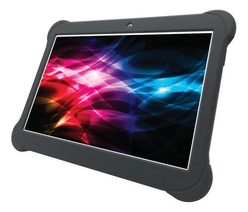 Tablet  Con Funda Enova 10  Metal 10  16gb Gris Con 2gb De Memoria Ram