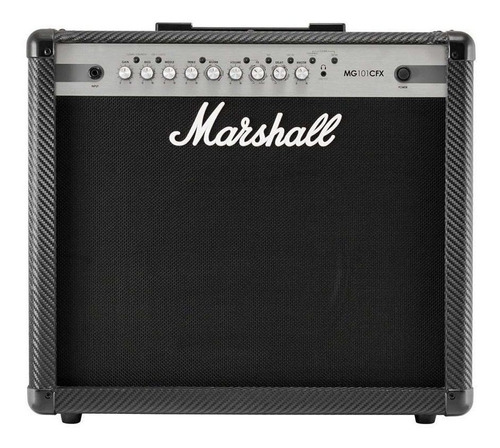 Amplificador Marshall Mg Carbon Fibre Mg101cfx Combo Transistor 100w