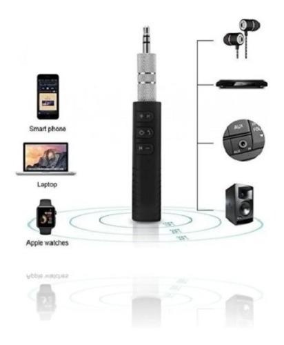 Transmisor Reproductor Plus Carro Bluetooth A 3.5 Auxiliar