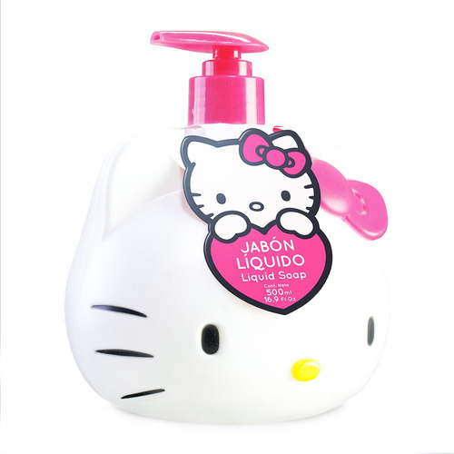 Jabon Liquido Hello Kitty 3d 500ml