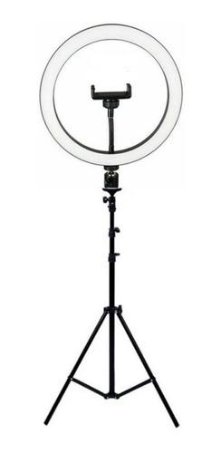 Ring Light Iluminador Led 36cm - 14 Polegadas C/ Tripé 2,1m