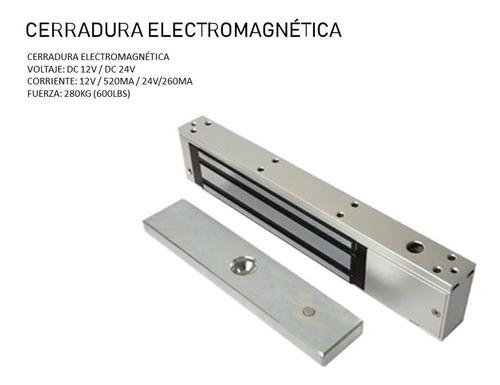 Cerradura Electro Magnetica 600 Lbs 280k 12v Con Sensor