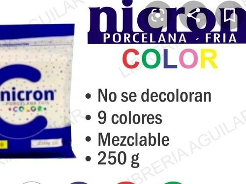 Porcelana Nycron Color250 Grs