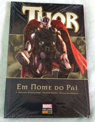 Marvel Deluxe: Thor Em Nome Do Pai, Panini, Lacrada