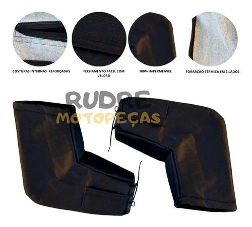 Luva De Guidão Impermeável Protetor De Mão(térmica) P/motos