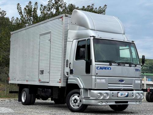 Ford Cargo 815 Ano 2008 Baú