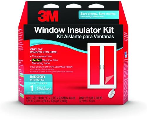 Kit De Aislador De Ventana Interior De 3m, 5 Ventanas, Multi